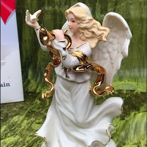 Musical porcelain collection Angel figure